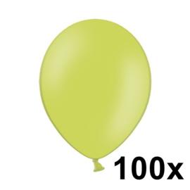 Pastel Appel Groen 100 Stuks