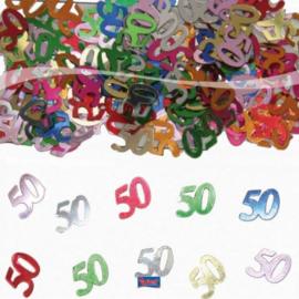 Tafel Decoratie confetti 50 jaar