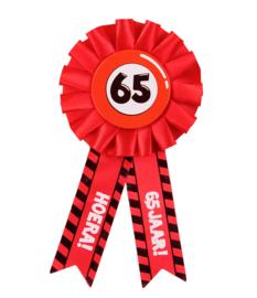 Party Rozetten - 65 jaar