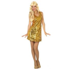Gouden Disco Paillettenjurkje