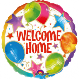 Folieballon 'Welcome Home' Celebration - 43 cm