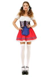 Oktoberfest Dress Beer Stein Babe