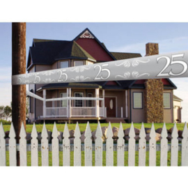 25 Jaar Jubileum Afzetlint - 15 meter