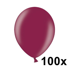 Metallic Burgundy 100 Stuks