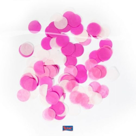 Confetti Groot Rond Baby Roze 14 gram