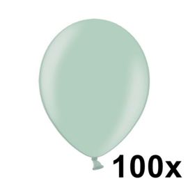 Metallic Licht Groen 100 Stuks