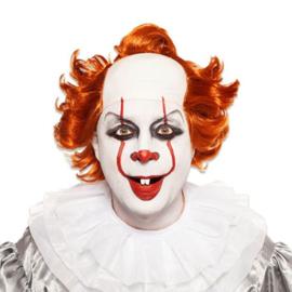Pruik duivelse clown
