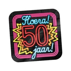 Huldeschild Neon 50 jaar