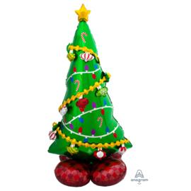 Folie Kerstboom  AirLoonz Ballon - 152 cm