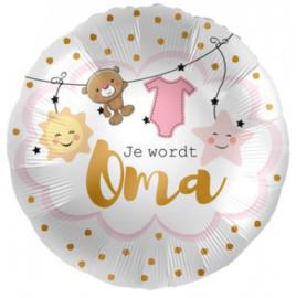 Folieballon 'Je Wordt Oma' - 45 cm