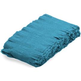 Lichtblauwe Crepe Papier Slinger - 6 meter