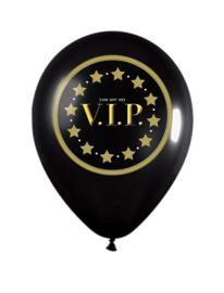 Vip Ballonnen Met Sterren - 12 Stuks