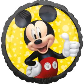 Folieballon Standaard Mickey Mouse - 45 cm