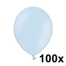 Pastel Sky Blauw 100 Stuks