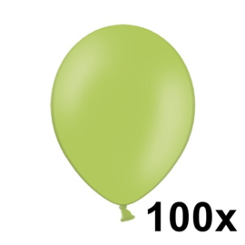 Pastel Lime Groen 100 Stuks