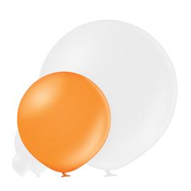 Metallic Helder Oranje 60 cm