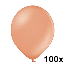 Metallic Rosé Goud 100 Stuks