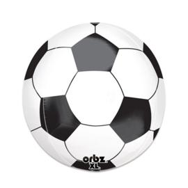Folieballon voetbal Orbz - 40 cm