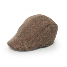 Bruine Gangster Peaky Blinders Flatcap | One size