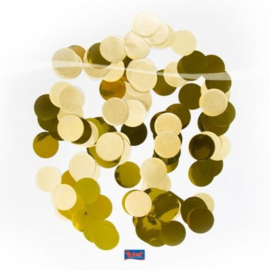 Confetti Groot Rond Goud 14 gram