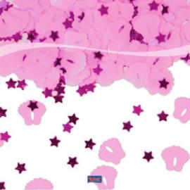 Tafel Decoratie & Sier Confetti Voetjes Roze