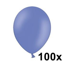 Pastel Cornflower Blauw 100 Stuks
