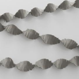 Crêpeslinger zilver (6m)