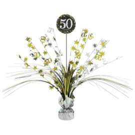 Glitterfeest 50 Jaar Tafeldecoratie 46 cm