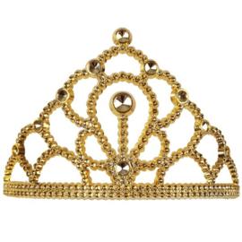 Tiara kam prinses goud