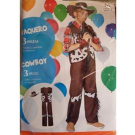 Cowboy Verkleedpak - carnavalspak (3-delig)