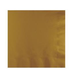 Servetten Glittering Gold 41 x 41 - 25 stuks
