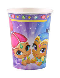 Drink Bekers Shimmer en Shine