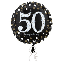 Folieballon 50 Glitterfeest 45 cm