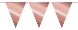 Rosé Goudkleurige Vlaggenlijn - 10 meter