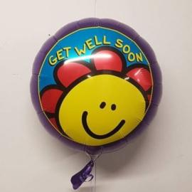 Folieballon Get Well Soon / Beterschap - 45 cm