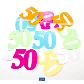Tafel Decoratie confetti XL 50 jaar