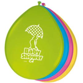 Babyshower Ballonnen - 8 stuks