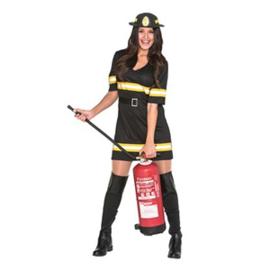 Brandweervrouw Kostuum