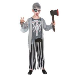 Zombie Piraat Kostuum