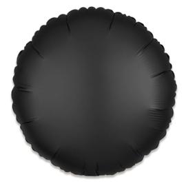 Folieballon rond satin onyx (43cm)