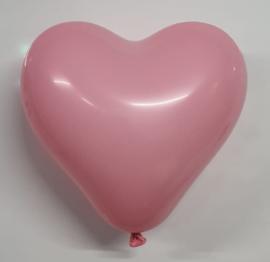Ballonnen Hart Roze 10 stuks 25 cm