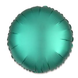 Folieballon rond satin jade - 43 cm