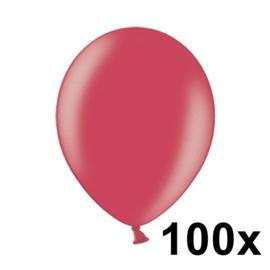 Metallic Cherry Rood 100 Stuks
