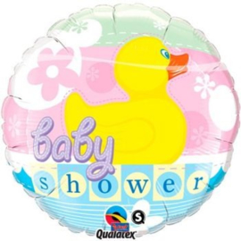 Folieballon Baby Shower Eend - 46 cm