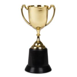 Gouden trofee (22cm)