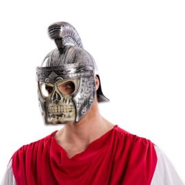 Romeinse helm met doodskopmasker