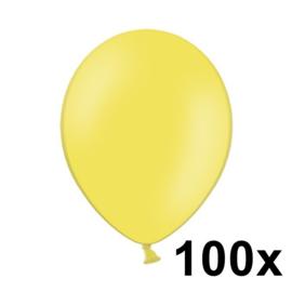 Pastel Geel 100 Stuks
