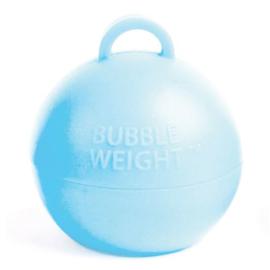 Ballongewicht bubble babyblauw (35gr)