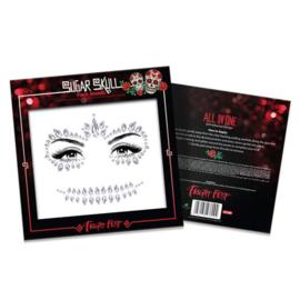 Face jewels 'Sugar Skull'