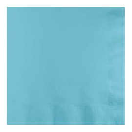 Servetten pastel blue